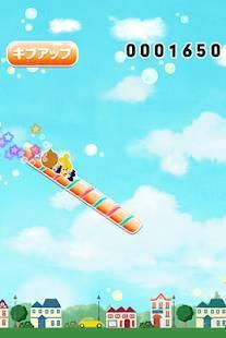 Androidアプリ「キャンディースライダー -がんばれ!ルルロロ」のスクリーンショット 1枚目