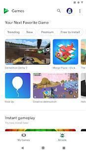 Androidアプリ「Google Play ゲーム」のスクリーンショット 2枚目