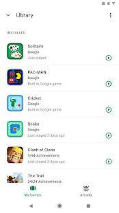 Androidアプリ「Google Play ゲーム」のスクリーンショット 4枚目