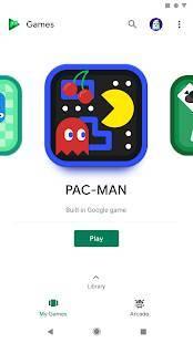 Androidアプリ「Google Play ゲーム」のスクリーンショット 1枚目