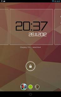 Androidアプリ「ClockQ - Digital Clock Widget」のスクリーンショット 5枚目