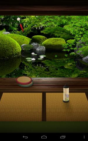 Androidアプリ「Zen Garden -Summer- ライブ壁紙」のスクリーンショット 1枚目