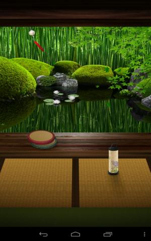 Androidアプリ「Zen Garden -Summer- ライブ壁紙」のスクリーンショット 5枚目