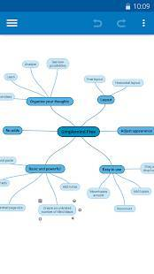 Androidアプリ「SimpleMind Free - Intuitive Mind Mapping」のスクリーンショット 1枚目