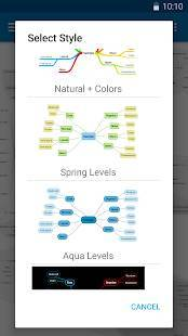 Androidアプリ「SimpleMind Free - Intuitive Mind Mapping」のスクリーンショット 5枚目