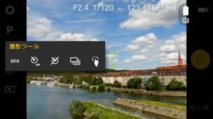 Androidアプリ「Camera FV-5 Lite」のスクリーンショット 5枚目