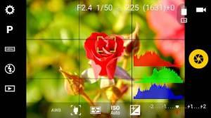 Androidアプリ「Camera FV-5 Lite」のスクリーンショット 3枚目