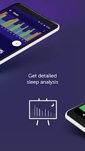 Androidアプリ「睡眠時間 : 睡眠サイクルスマートアラームクロック、監視分析」のスクリーンショット 3枚目
