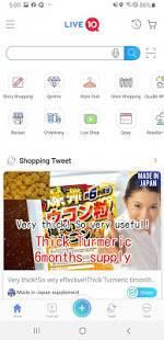 Androidアプリ「Live10」のスクリーンショット 1枚目