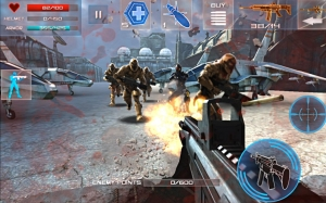 Androidアプリ「Enemy Strike  (エネミーストライク)」のスクリーンショット 1枚目