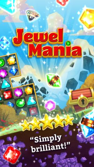Androidアプリ「Jewel Mania™」のスクリーンショット 4枚目