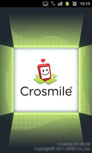 Androidアプリ「Crosmile」のスクリーンショット 1枚目