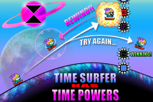 Androidアプリ「Time Surfer」のスクリーンショット 2枚目