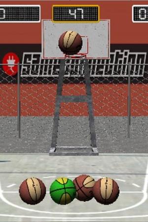 Androidアプリ「バスケットボールの試合 3D」のスクリーンショット 3枚目