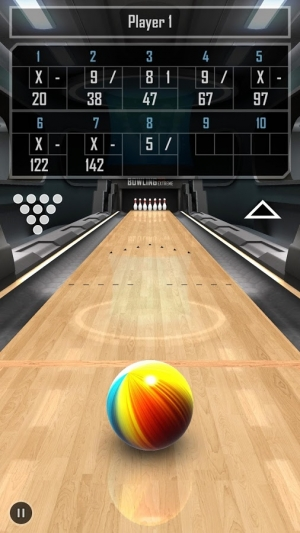 Androidアプリ「Bowling 3D Extreme FREE」のスクリーンショット 4枚目