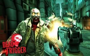 Androidアプリ「DEAD TRIGGER」のスクリーンショット 1枚目