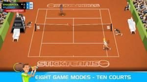 Androidアプリ「Stick Tennis」のスクリーンショット 3枚目
