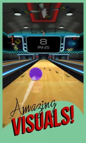 Androidアプリ「ロック ボウリング 3D ボウリング - ベスト無料ゲーム」のスクリーンショット 2枚目