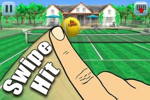 Androidアプリ「Hit Tennis 3」のスクリーンショット 1枚目