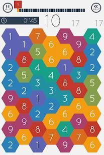 Androidアプリ「あそんでまなべる たし算パズル」のスクリーンショット 4枚目