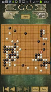 Androidアプリ「Go Free - 囲碁」のスクリーンショット 2枚目