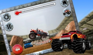 Androidアプリ「Top Truck Free - Monster Truck」のスクリーンショット 2枚目