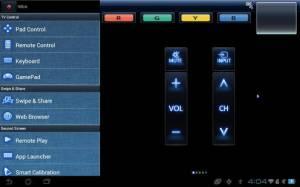 Androidアプリ「Panasonic TV Remote 2」のスクリーンショット 2枚目