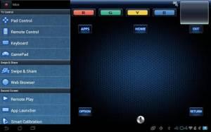 Androidアプリ「Panasonic TV Remote 2」のスクリーンショット 1枚目