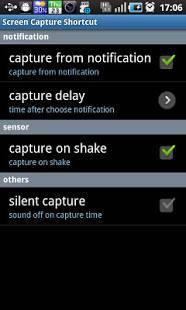 Androidアプリ「スクリーンキャプチャーショートカット」のスクリーンショット 1枚目