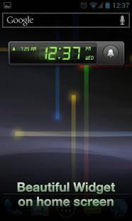 Androidアプリ「アラームクロックPro」のスクリーンショット 4枚目