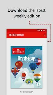 Androidアプリ「The Economist」のスクリーンショット 3枚目
