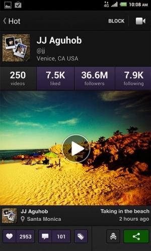 Androidアプリ「Viddy」のスクリーンショット 2枚目