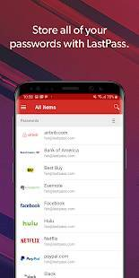 Androidアプリ「LastPass Password Manager」のスクリーンショット 1枚目