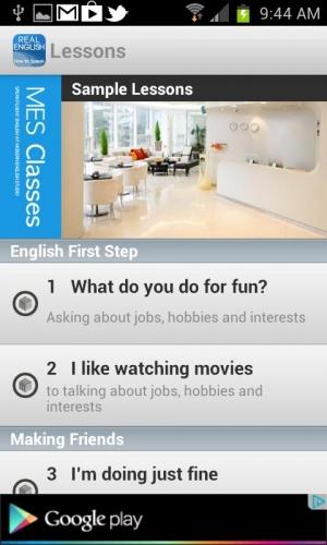 Androidアプリ「[無料] リアル英語上達の道」のスクリーンショット 2枚目