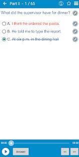 Androidアプリ「TOEICテスト - TOEIC Preparation」のスクリーンショット 2枚目