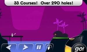 Androidアプリ「Super Stickman Golf」のスクリーンショット 1枚目