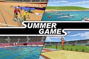 Androidアプリ「Summer Games 3D Lite」のスクリーンショット 1枚目