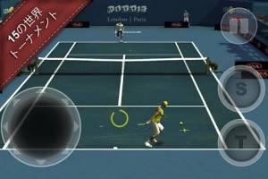 Androidアプリ「Cross Court Tennis 2」のスクリーンショット 1枚目