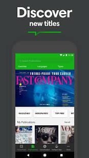 Androidアプリ「PressReader」のスクリーンショット 2枚目