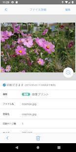 Androidアプリ「ネットワークプリント」のスクリーンショット 3枚目