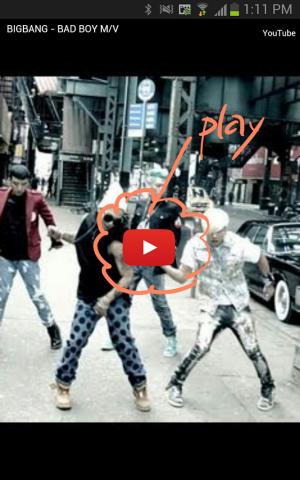 Androidアプリ「BIGBANG ビッグバン」のスクリーンショット 3枚目