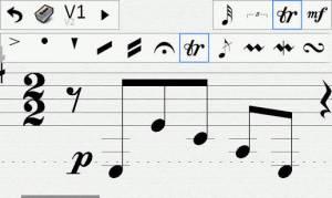 Androidアプリ「Ensemble Composer」のスクリーンショット 4枚目