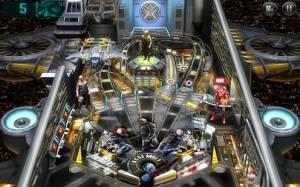 Androidアプリ「Marvel Pinball」のスクリーンショット 1枚目