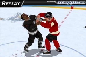 Androidアプリ「Hockey Fight Lite」のスクリーンショット 4枚目