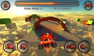 Androidアプリ「Jet Car Stunts Lite」のスクリーンショット 3枚目