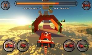 Androidアプリ「Jet Car Stunts Lite」のスクリーンショット 4枚目
