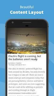 Androidアプリ「Inoreader - RSS&ニュースリーダー」のスクリーンショット 4枚目