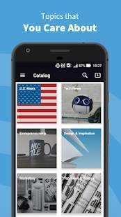 Androidアプリ「Inoreader - RSS&ニュースリーダー」のスクリーンショット 2枚目