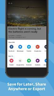 Androidアプリ「Inoreader - RSS&ニュースリーダー」のスクリーンショット 5枚目