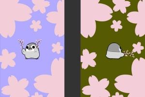 Androidアプリ「ぺそぎん桜踊り 放置育成ゲーム無料ライブ壁紙」のスクリーンショット 4枚目